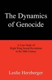 Cover of: The Dynamics of Genocide