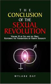 Cover of: The Conclusion Of The Sexual Revolution