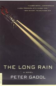 Cover of: The Long Rain | Peter Gadol