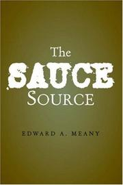 Cover of: The Sauce Source