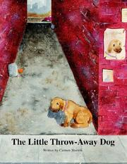 Cover of: The Little Throw-Away Dog