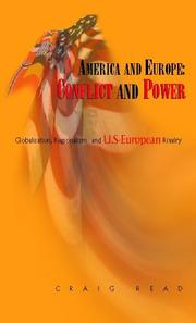 Cover of: America and Europe: Conflict and Power