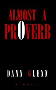 Cover of: almost a proverb
