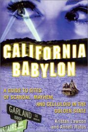 Cover of: California Babylon