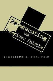 Cover of: Re-educating the American Palate