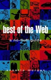 Cover of: Best of the Web | Annette Morgan