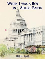 Cover of: When I Was a Boy in Short Pants 1896-1913