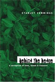 Cover of: Behind the Hedge | Stanley Cummings