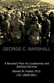 Cover of: George C. Marshall | Stewart W. Husted