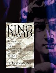 Cover of: King David