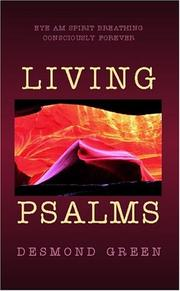 Cover of: Living Psalms | Desmond Green