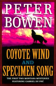Cover of: Coyote Wind and Specimen Song