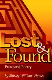 Cover of: Lost And Found | Shirley Homes