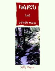Cover of: HAIKU and Other Things