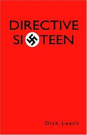 Cover of: Directive Sixteen