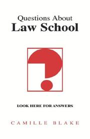 Cover of: Questions About Law School