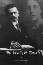 Cover of: The Security of Silence