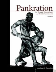 Cover of: PANKRATION-AN OLYMPIC COMBAT SPORT