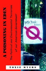 Cover of: A Poisoning in Eden
