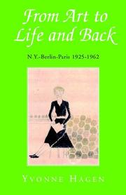 Cover of: From Art To Life And Back