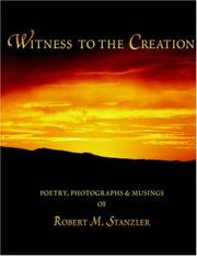 Cover of: Witness to the Creation