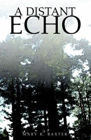 Cover of: A Distant Echo
