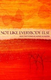 Cover of: Not Like Everybody Else
