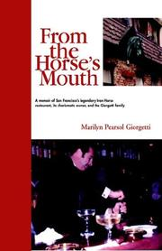 Cover of: From the Horse's Mouth