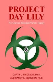 Cover of: Project Day Lily | Garth Nicolson