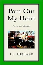 Cover of: Pour Out My Heart