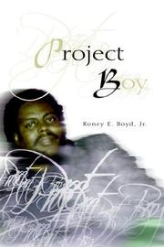 Cover of: Project Boy | Roney Boyd