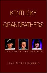 Cover of: KENTUCKY GRANDFATHERS