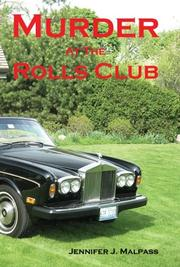 Cover of: Murder at the Rolls Club
