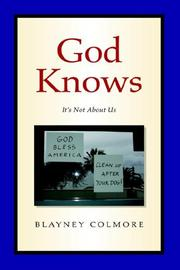 Cover of: God Knows