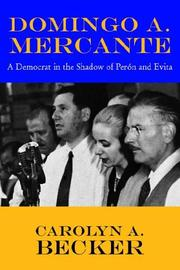 Cover of: Domingo A. Mercante