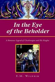 Cover of: In the Eye of the Beholder