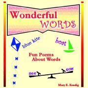 Cover of: Wonderful Words