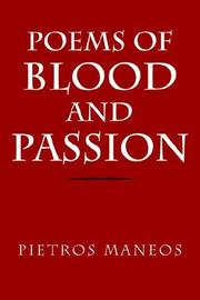 Cover of: Poems of Blood and Passion