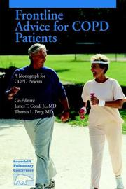 Cover of: Frontline Advice for COPD Patients