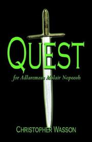 Cover of: Quest for Adlaremzee Molair Nopeeoh