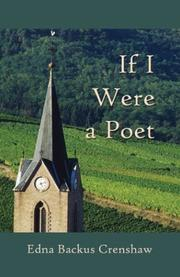 Cover of: If I Were a Poet