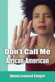 Cover of: Don't Call Me African-American