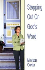Cover of: Stepping Out on God's Word