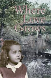 Cover of: Where Love Grows