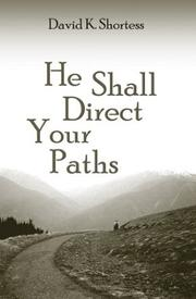 Cover of: He Shall Direct Your Pathsa