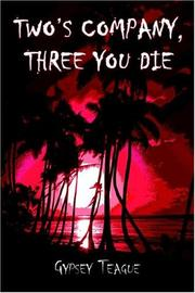 Cover of: Two's Company, Three You Die!