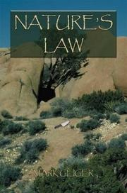 Cover of: Nature's Law