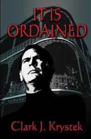 Cover of: It Is Ordained