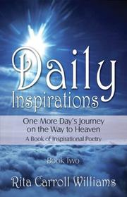 Cover of: Daily Inspirations | Rita Carroll Williams