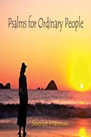 Cover of: Psalms for Ordinary People